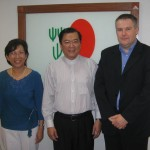 Jane Yau is the best ganoterapyst, Dato Dr. Lim CEO and me in Oct, 2008 Kuala Lumpur