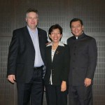 Jane Yau is the best ganoterapyst, Dato Dr. Lim CEO and me in April, 2009 Budapest