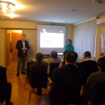 Presentation in the Moscow office