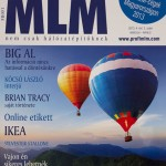 Front page of the MLM magazine