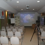 The presentation room