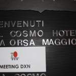 The first DXN meeting in Milan