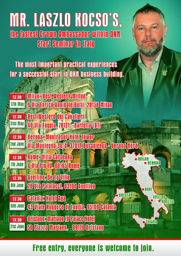 Start Seminar Italy